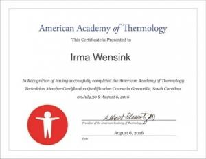 Certificaat AAT Technician Course